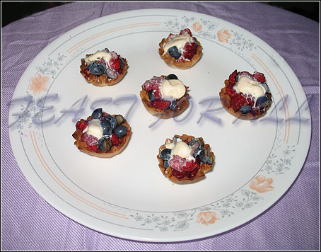 Phyllo Fruit Cups Cook Share And Feast