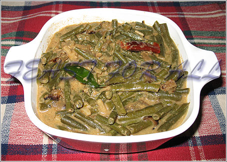 Yard Long Beans Curry Payathanga Curry Cook Share And