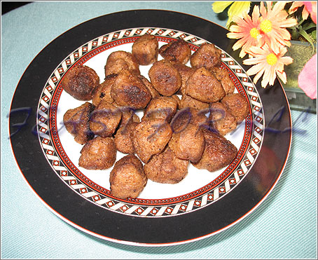 Fried Soy Chunks Soy Meat Cook Share And Feast