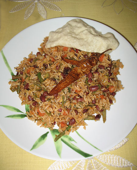 KidneyBeanPulav