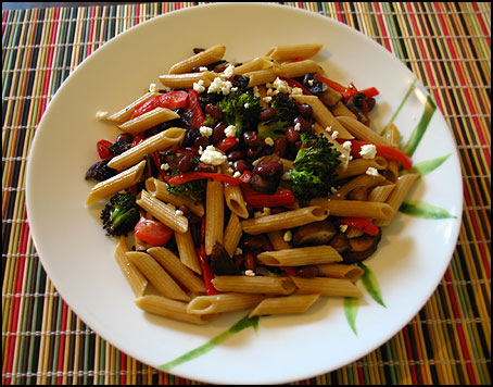 Pasta_Broccoli_KidneyBeans