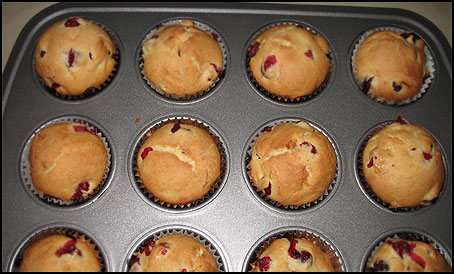 CranberryMuffins