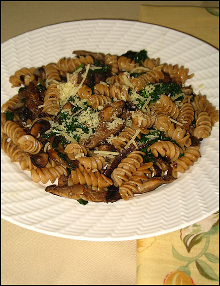Penne with Mushroom and Thyme