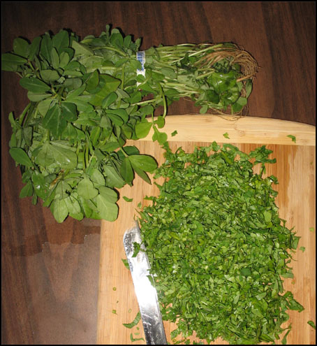 fenugreekleaves