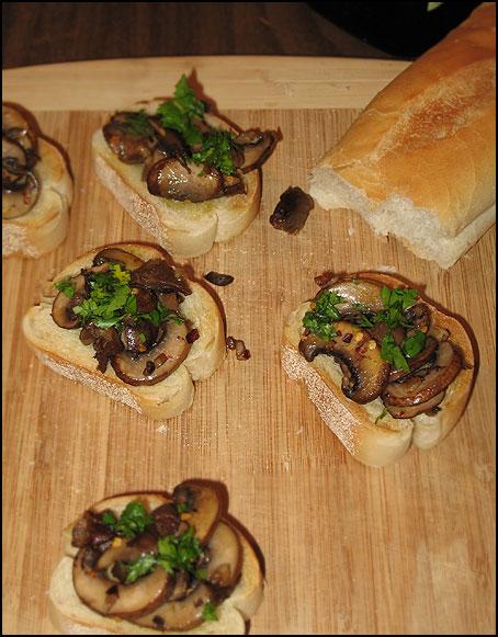 mushroomBruschetta